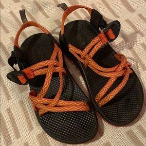 Orange Chaco Sandals